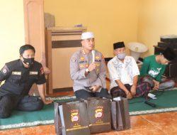 Kapolda Banten Salurkan Bantuan Perlengkapan Sholat