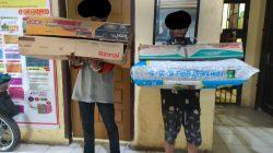 Polsek Tanjung Beringin Tangkap Tersangka Curat dan Penadah