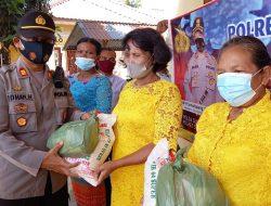 Polres Sergai Gelar Minggu Kasih ke Gereja Penthakosta Desa Suka Damai