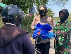 Giliran Peran Wanita yang Bergerak, 500 Paket Sembako Menyasar untuk Masyarakat Terdampak Covid -19