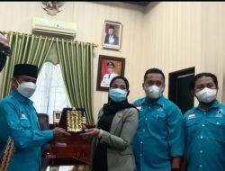 DPD Partai Gelora Langkat Silaturrahim Ke Ketua DPRD.