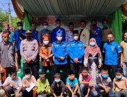 Pimpinan Pemuda Muhammadiyah Stabat Bersama PK KNPI Stabat Melasanakan Khitanan Ceria Bagi Anak -Anak sholeh di Kecamatan Stabat.