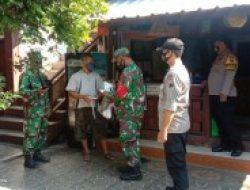 Koramil Karangmalang Patroli Siang- Malam Himbau Pakai Masker dan Cegah Kerumunan