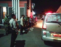 TNI- POLRI Kawal Warga Isolasi Terpusat Di Asrama Haji Donohudan