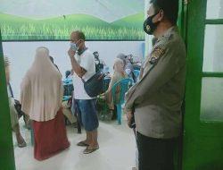 Sat Binmas Polres Sergai Turut Traching Kontak Erat Positif Covid-19