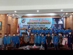 Samsir Pohan Lantik Pengurus DPD KNPI Kota Binjai