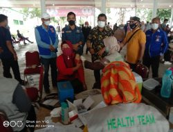 DPC HNSI Sergai Lakukan Vaksinasi 300 Nelayan