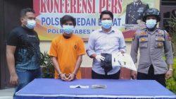 """Polsek Medan Barat Ciduk """"Bele"""" Pelaku Pencurian dengan Kekerasan"""