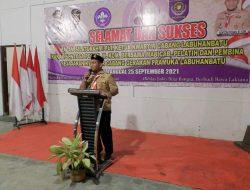 Plt.Ketua Kwartir Cabang Gerakan Pramuka 05 Labuhanbatu Gelar Malam Keakraban Silaturahmi