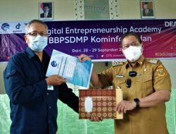 Memajukan Usaha, Pelaku UMKM Dairi Adakan Pelatihan Digital Entrepreneurship Academy (DEA)
