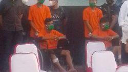 Dalam 2 Minggu, Polisi Berhasil Ungkap 5 Pelaku Perampokan Toko Mas Simpang limun