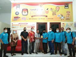 Partai Gelombang Rakyat Indonesia ( GELORA) Audiensi Ke Ketua KPU Langkat