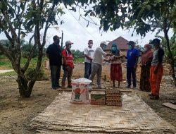 HKI Zona 3 Peduli Korban Kebakaran Rumah Di Desa Bukit Melintang Kecamatan Wampu