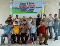 Persatuan Sambo Indonesia (Persambi) Langkat Terbentuk
