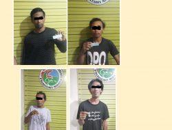 Gerebek Kampung Narkoba, Poldasu Amankan 8 Warga Pakai Narkoba