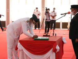 Rizky Yunanda Sitepu Resmi Dilantik Wakil Walikota Binjai