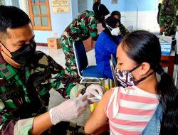 Bangkitkan Ekonomi Nasional dan Wujudkan Masyarakat Sehat serta Produktif, Lanud Smo Gencar Lanjutkan Vaksinasi