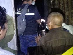 Polsek Medan Baru Pasang Police Line Pascaterbakarnya Bengkel Sepeda Motor di Jalan Ayahanda