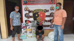 Gasak Toko Elektronik, Ain Ditangkap Polres Sergai dan 1 Lagi DPO