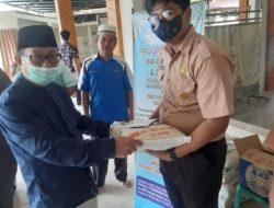Bkm Tarbiyatul Ilmiah SMKN1 Stabat Laksanakan Santunan Yatim,Piatu,Dhua'fa Dan Berbagi 100 Nasi Kotak.