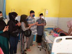 DMDI Langkat Serahkan Donasi & Sembako Untuk Aldo Syahputra Penderita Hidrosefalus