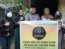 DMDI Langkat,Salurkan Bansos Untuk Masyarakat Kerumah-Rumah